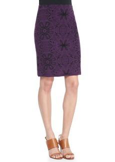 M Missoni Mosaic Jacquard Pencil Skirt