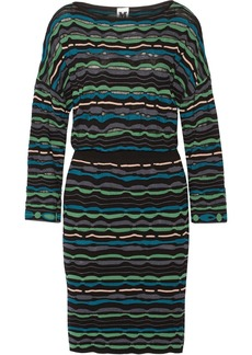 M Missoni Open-back crochet-knit dress