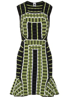 M Missoni Patterned stretch-knit dress