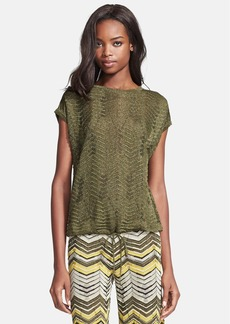 M Missoni Pointelle Knit Top