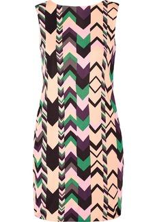 M Missoni Printed crepe dress