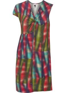 M Missoni Printed stretch-jersey dress