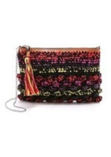 M Missoni Raffia Cross Body Bag