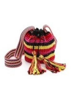 M Missoni Rafia Bucket Bag