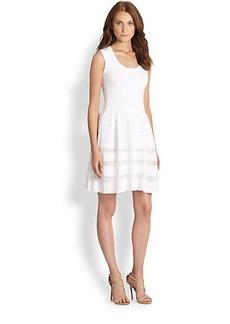 M Missoni Ribbed Short Dress