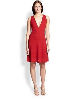 M Missoni Ribbed Stitch Dress