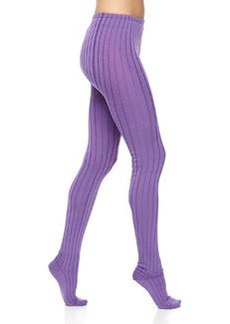 M Missoni Ribbed Wool-Knit LegginLC Designer II - Dresses - Outerweargs, Purple