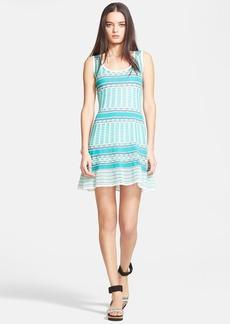 M Missoni Scoop Neck Knit Tank Dress