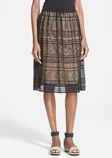 M Missoni Sheer Overlay Skirt