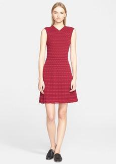 M Missoni Sleeveless Bubble Stitch Dress