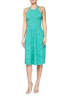 M Missoni Sleeveless Mosaic Jacquard Dress