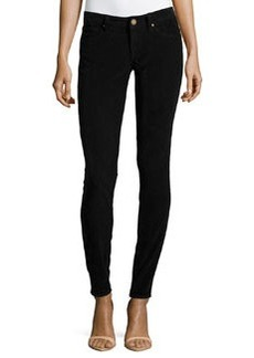 M Missoni Slim-Leg Corduroy Pants, Black