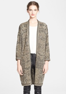 M Missoni Space Dye Slub Knit Cardigan