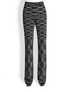 M Missoni Space-Dyed Double-Knit Pants