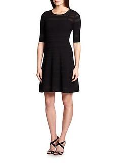 M Missoni Stitched-Panel Knit Dress