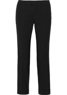 M Missoni Stretch cotton-blend straight-leg pants