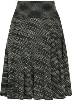 M Missoni Striped jersey skirt