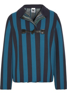 M Missoni Striped stretch-jersey jacket