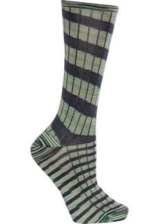 M Missoni Striped wool-blend socks