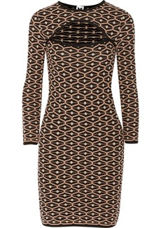 M Missoni Textured-knit mini dress