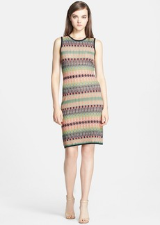 M Missoni Tie Dye Stretch Knit Body-Con Dress