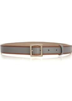 M Missoni Two-tone leather belt