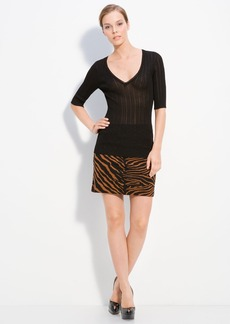 M Missoni V Neck Knit Pullover