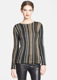 M Missoni Vertical Stripe Knit Top