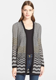 M Missoni Wave Knit Cardigan