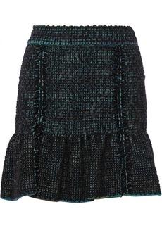 M Missoni Wool-blend bouclé skirt