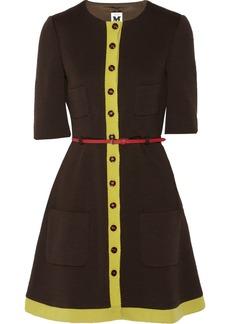 M Missoni Wool-blend twill dress