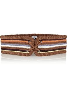 M Missoni Woven cotton-blend belt
