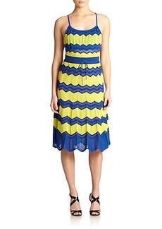 M Missoni Zigzag Halter Dress