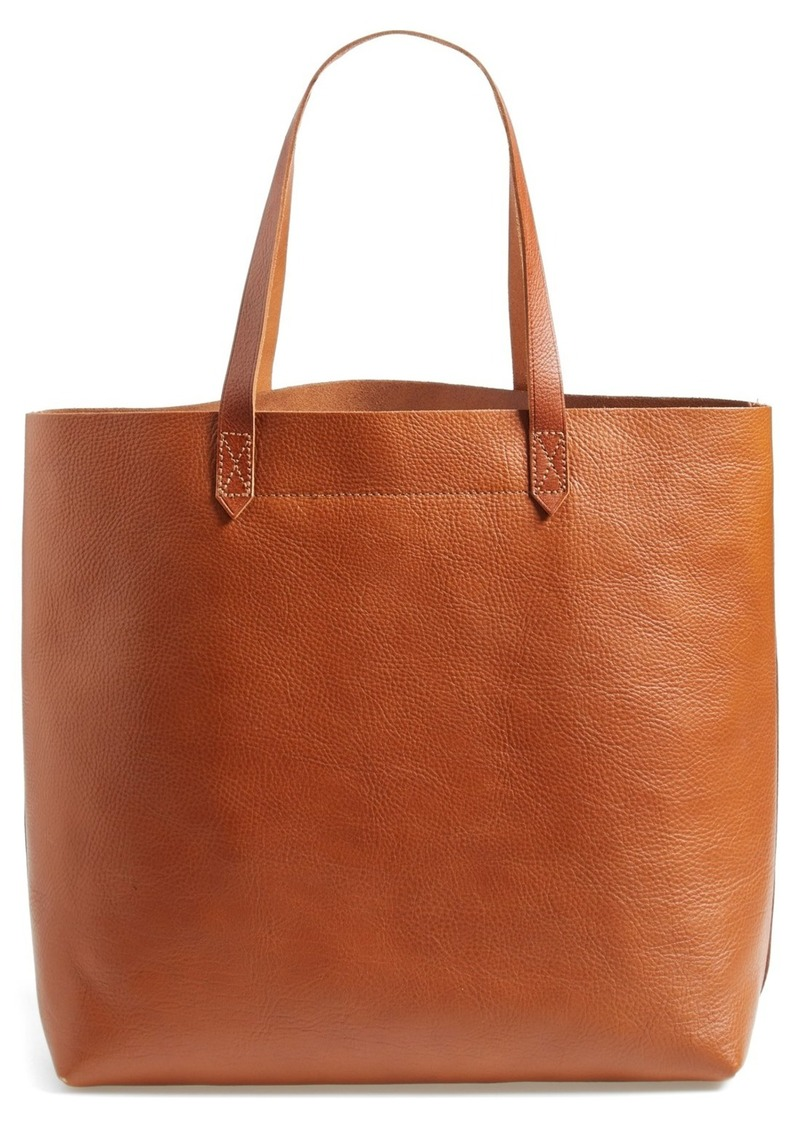 Madewell Madewell The Transport Leather Tote Handbags