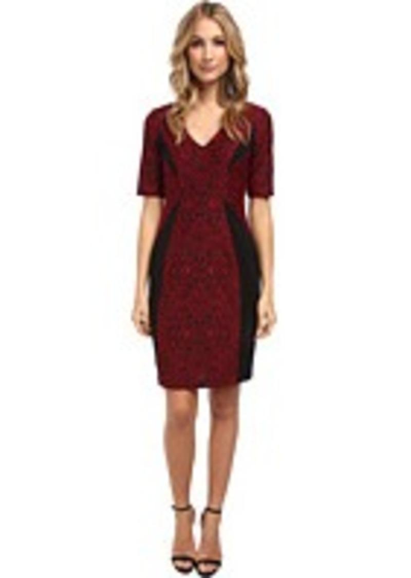 ... Jacquard Ponte Sheath w/ Elbow Sleeve Dress | Dresses - Shop It To Me
