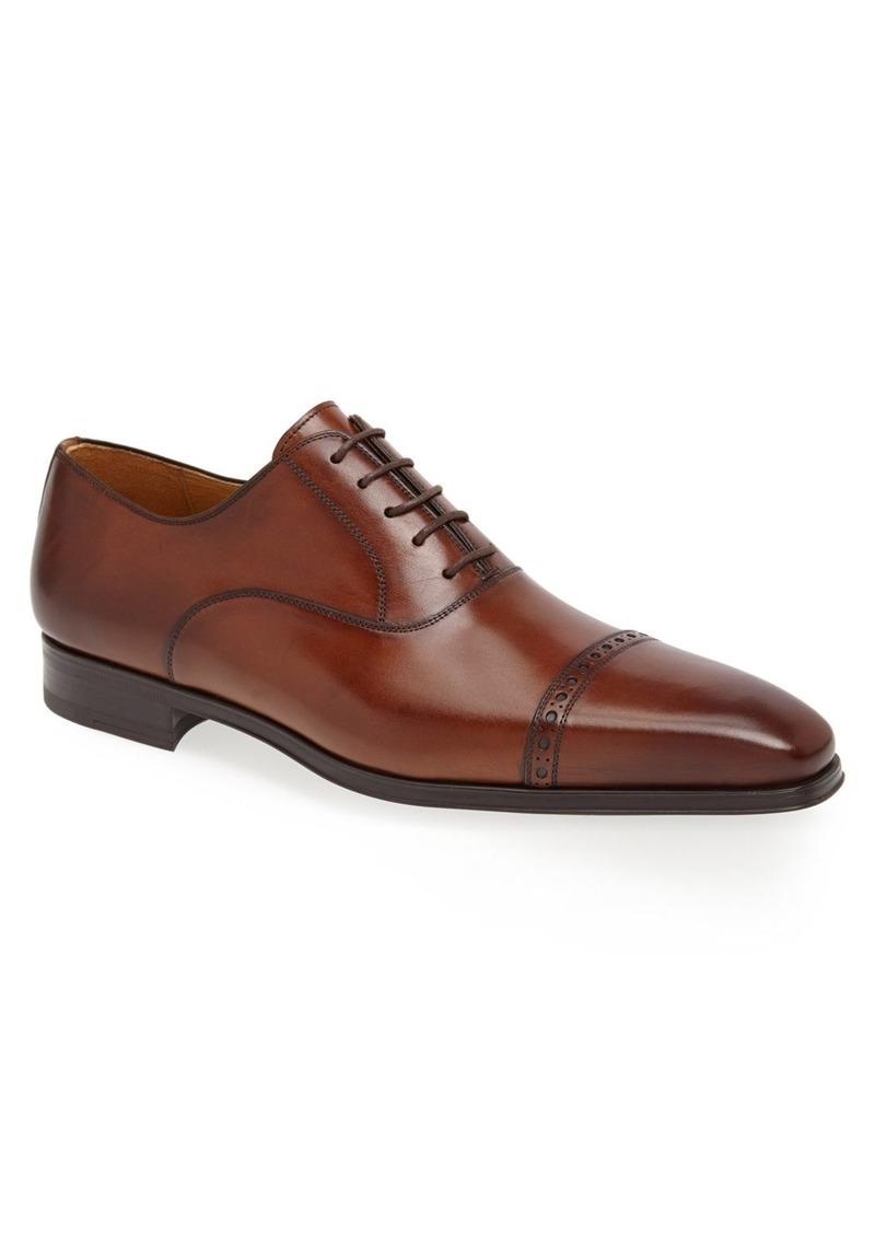magnanni magnanni cap toe oxford shoes