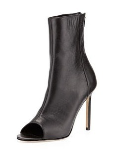 Basketta Peep-Toe Bootie   Basketta Peep-Toe Bootie