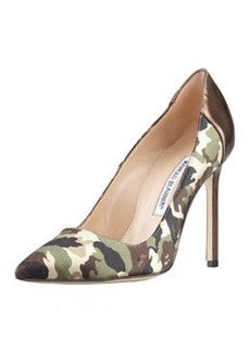 BB Camo 105mm Specchio-Heel Pump   BB Camo 105mm Specchio-Heel Pump