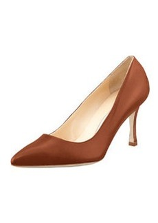 BB Leather 70mm Pump, Caramel   BB Leather 70mm Pump, Caramel