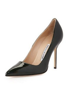 BB Metallic Patent Leather Pointy Toe Pump, Dark Green   BB Metallic Patent Leather Pointy Toe Pump, Dark Green