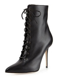 Bordin Pointed Lace-Up Bootie   Bordin Pointed Lace-Up Bootie