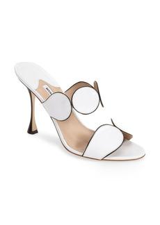 Manolo Blahnik 'Alikamu' Leather Sandal (Women)