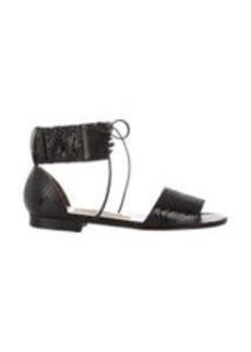 Manolo Blahnik Ankle-Cuff Kevo Sandals