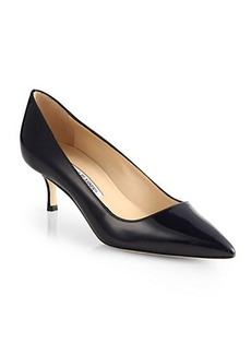 Manolo Blahnik BB 50 Patent Leather Pumps