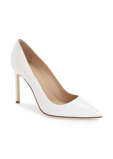 Manolo Blahnik 'BB' Pointy Toe Pump (Women)