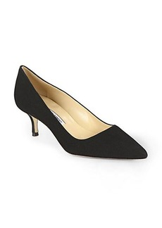 Manolo Blahnik BB Suede Pumps