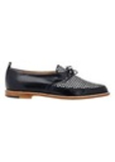 Manolo Blahnik Bi-Color Masina Oxfords