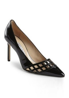 manolo blahnik Black Jabi Pumps