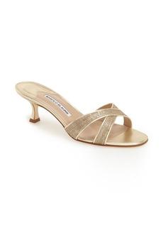 Manolo Blahnik 'Callamu' Slide Sandal (Women)