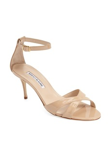 Manolo Blahnik 'Callre' Ankle Strap Sandal (Women)